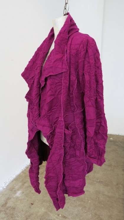 Mantel Henry ...aus gecrashter Wolle