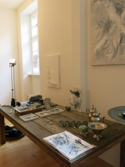 """Vintage .... und diverse Malerein aus der Ausstellung """" Rumpenheimer Kunsttage"""