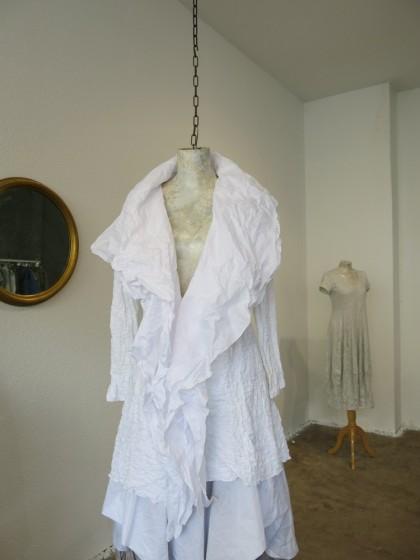 """Jacke """" Papillon """" aus Baumwolle und Baumwoll/ Synthetik Cloque"""