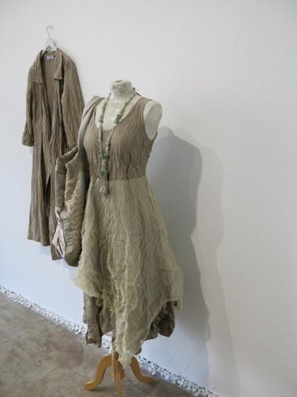 """Kleid """"Mereth"""" und Mantelkleid """"Marie"""" aus Seide"""