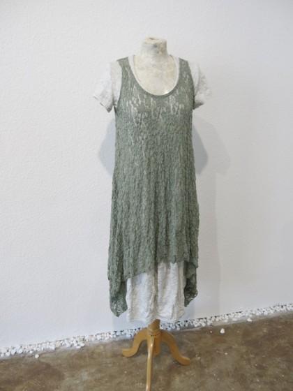 """Kleid """" Lotta """" mit Oberteil """" Jaelle """" aus Spitze ( gibt es in 17 Farben )"""