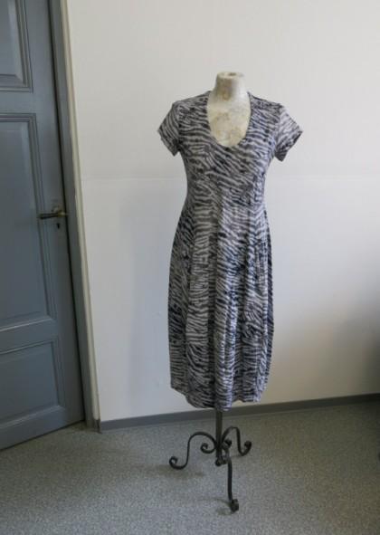 Kleid Lotta Viskose Jersey - Print helle Seite