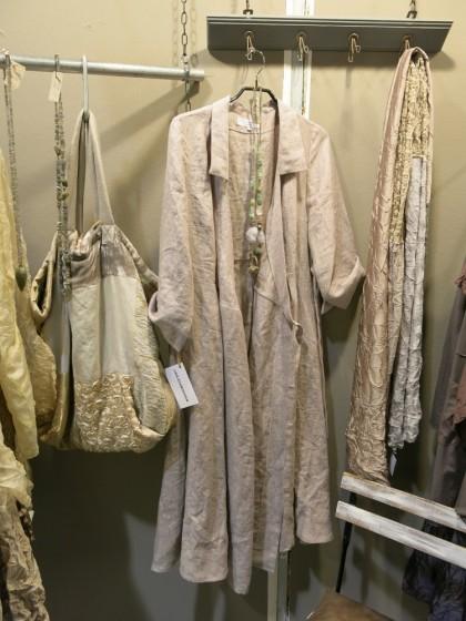 Messeeinblicke mit Mantel / Kleid Marie aus leinen