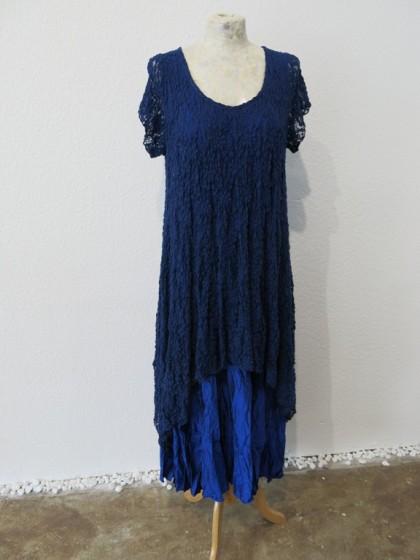 "Kleid ""Aime "" mit Oberteil "" Jaelle "" mit Kurzarm aus Spitze Viskose / Synthetik"